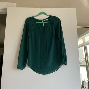 Emerald green blouse/tunic